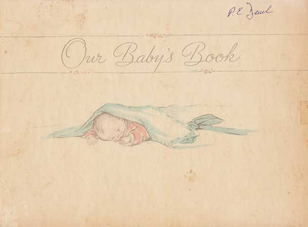 Peter Deuel's Baby Book